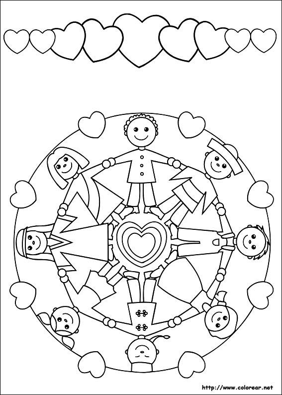 Dibujos de Mandalas para colorear en Colorear.net