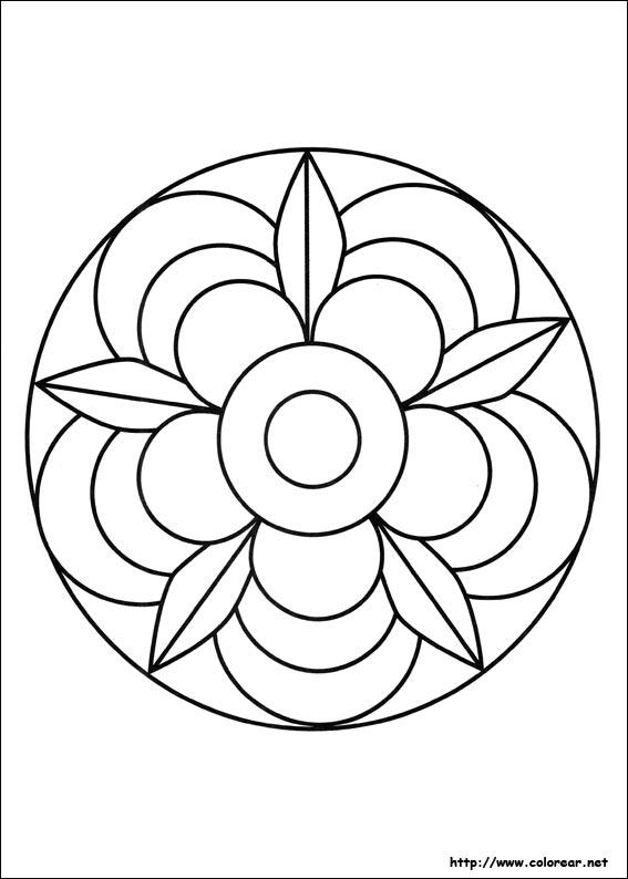 Dibujos De Mandalas Volver A La Categora