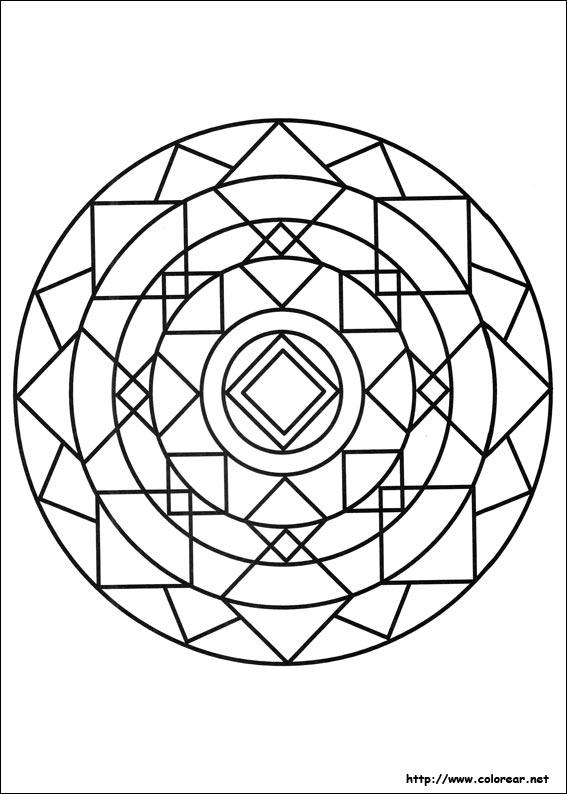 Dibujos Para Colorear De Mandalas