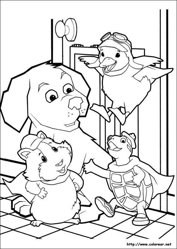 Dibujo de mascotas para colorear - Imagui