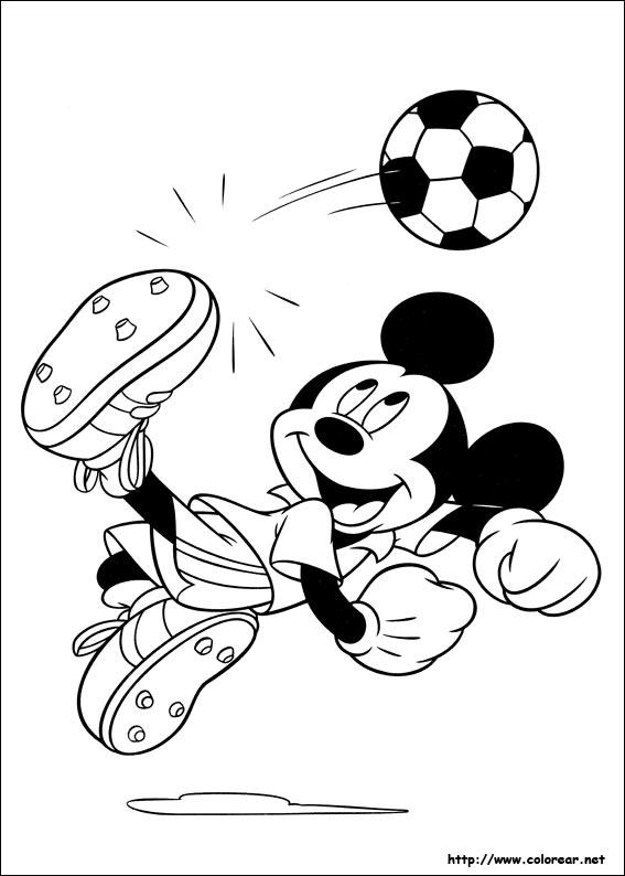 Dibujos de Mickey para colorear en Colorear.net