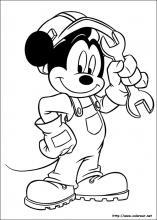 Dibujos De Mickey Para Colorear En Colorearnet