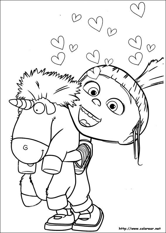 Dibujos de Minions para colorear en Colorear.net