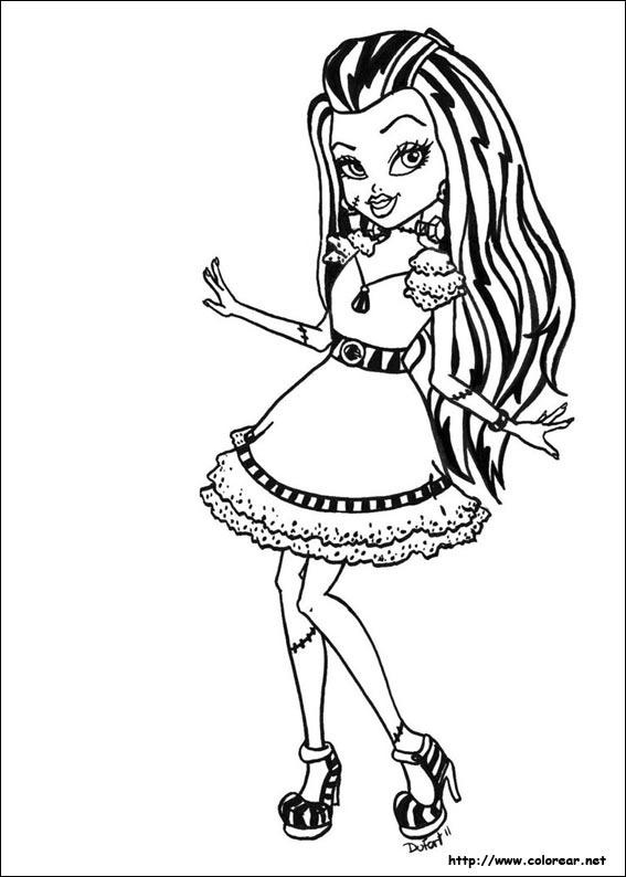 Dibujos para colorear de Monster High