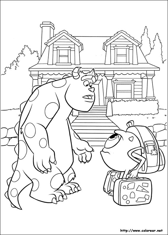 uni coloring pages - photo#4