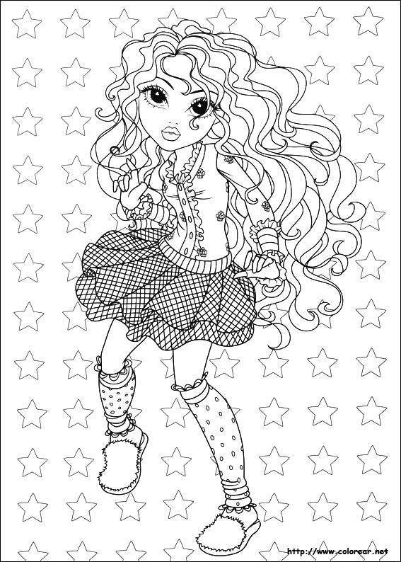 Dibujos de Moxie Girlz