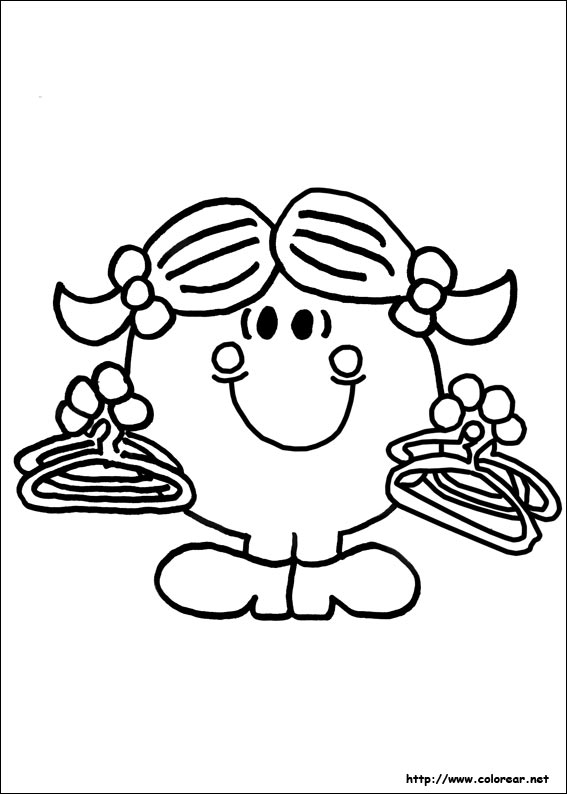 little miss sunshine coloring pages - photo#23