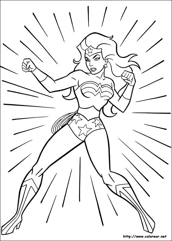 Dibujos de Mujer Maravilla