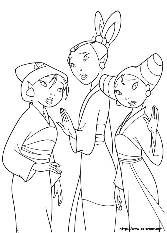 Mulan 2 Coloring Pages Quotes Mulan 2 Coloring Pages