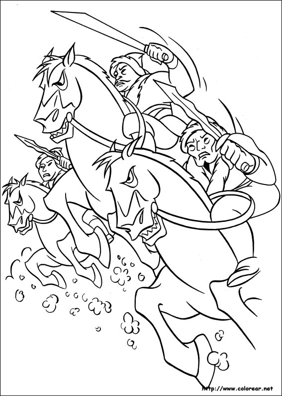 Disney Princess Coloring Page MULAN  Coloring Pages to