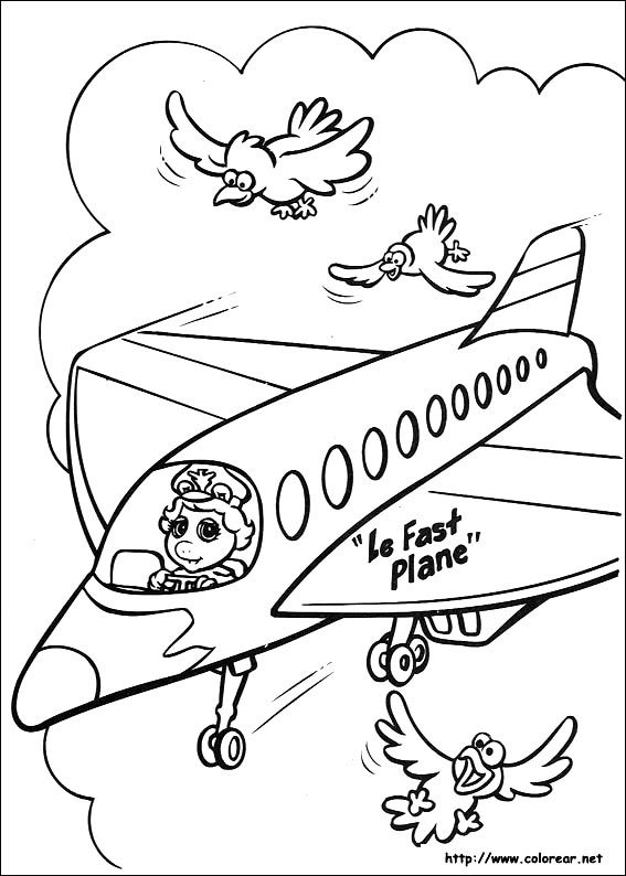 Dibujos Para Colorear De Muppets Babies