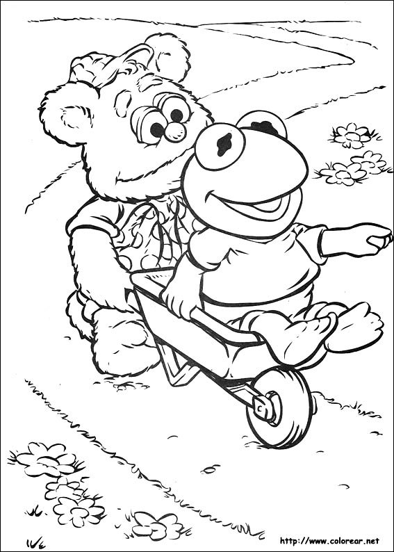 muppet babies printable coloring pages - photo#22