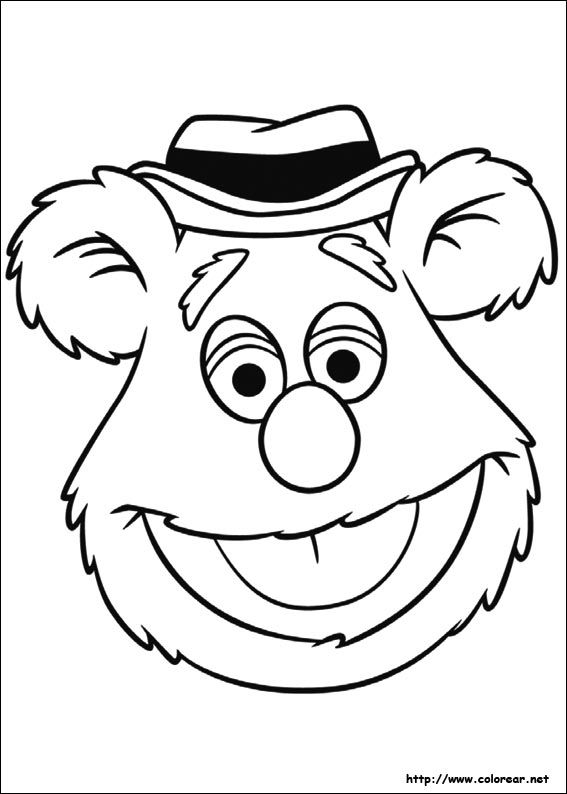 Pics Photos - Kermit The Frog Coloring Page Fozzie Bear Coloring ...