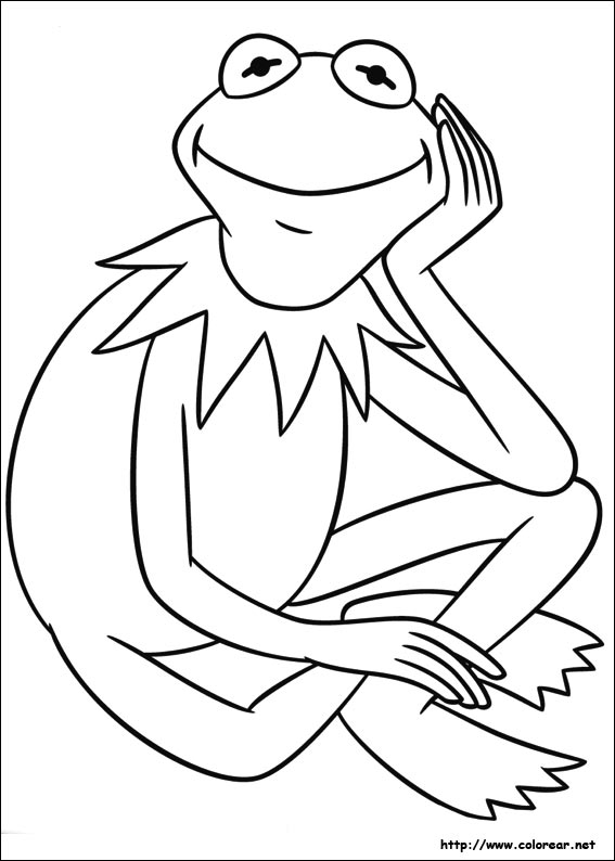 miss piggy coloring pages muppets - photo#31