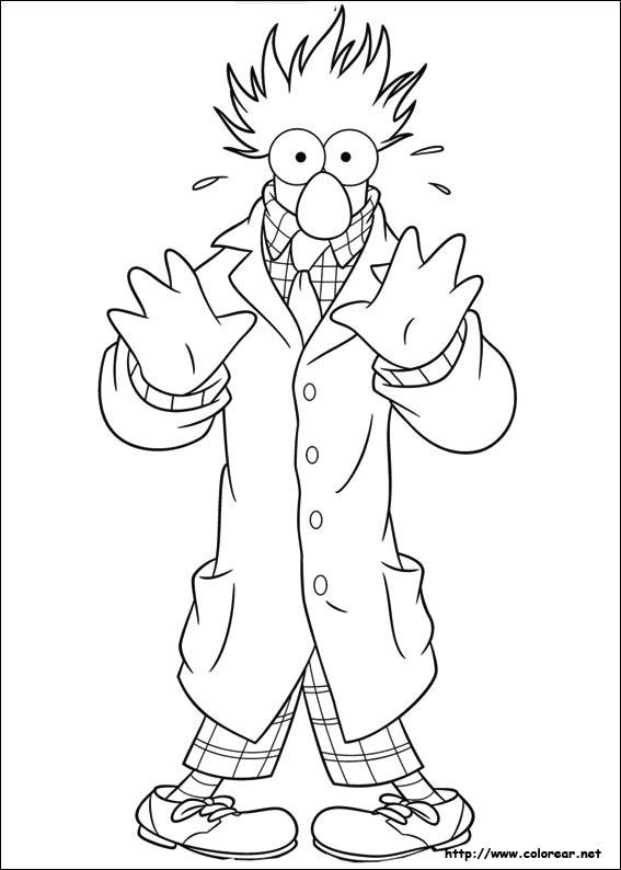 muppet coloring pages - dibujos para colorear de los muppets
