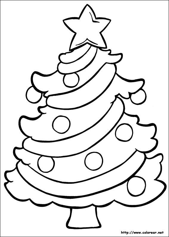 la navidad dibujos para colorear