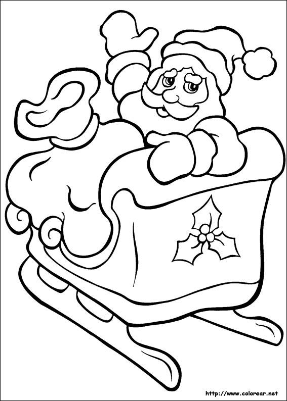 Dibujos para colorear de navidad - Dibujos en color de navidad ...