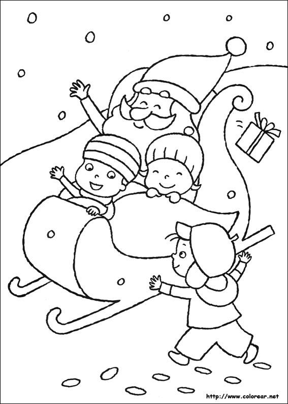 Dibujos de Navidad para colorear en Colorear.net