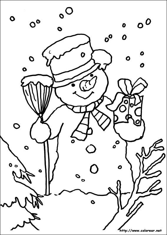 Dibujos De Navidad Del Olentzero.Dibujos De Navidad Para Colorear En Colorear Net