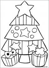 Dibujos de navidad faciles para pintar
