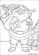 Dibujos para imprimir y colorear de la navidad