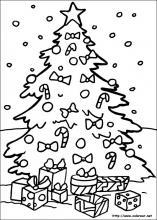 Dibujos para colorear de navidad para pintar en el ordenador