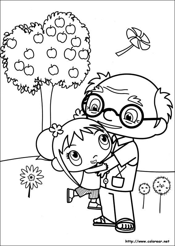 Dibujos para colorear de Ni Hao Kai-Lan