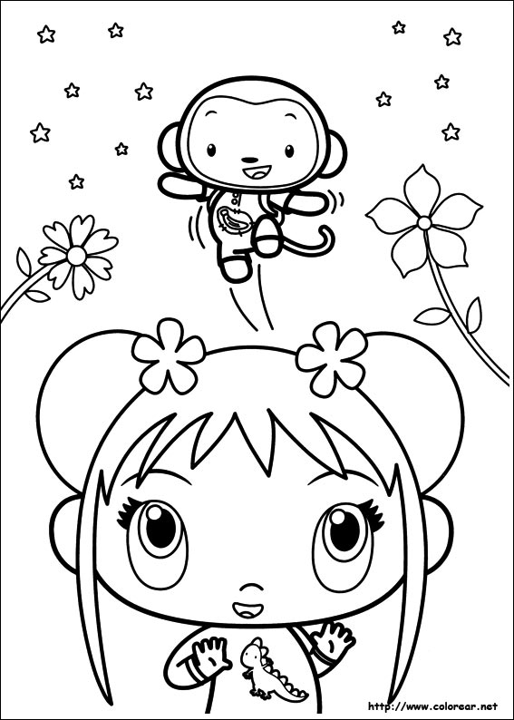 kai lan coloring pages - photo#38