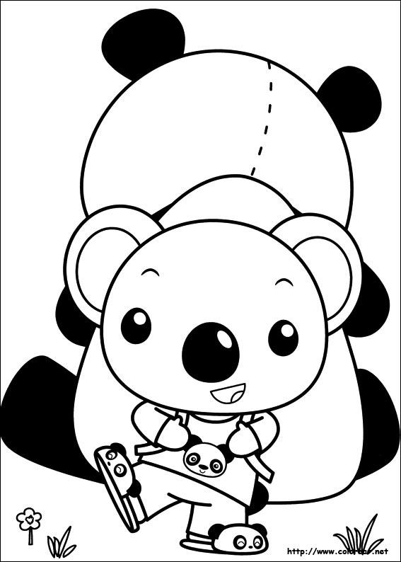 Dibujos de Ni Hao Kai-Lan para colorear en Colorear.net