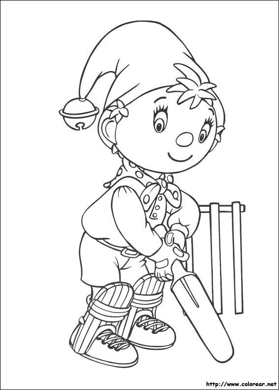 noddy coloring pages - dibujos para colorear de noddy