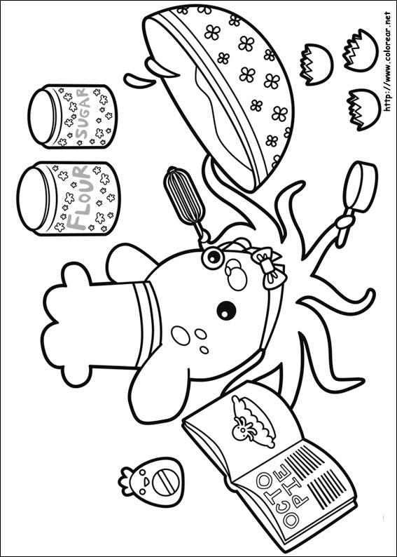 Dibujos de Octonautas para colorear en Colorear.net