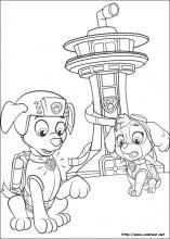Dibujos De La Patrulla Canina Para Colorear En Colorear Net