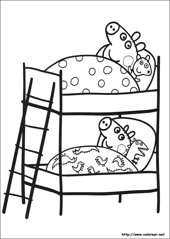 Dibujos De Peppa Pig Para Colorear En Colorearnet