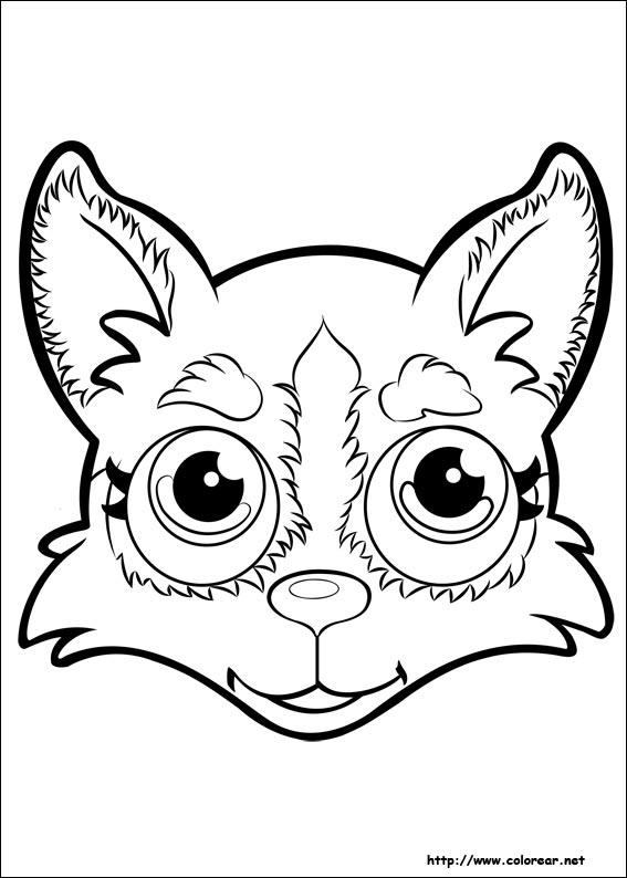 Dibujos para colorear de Pet Parade