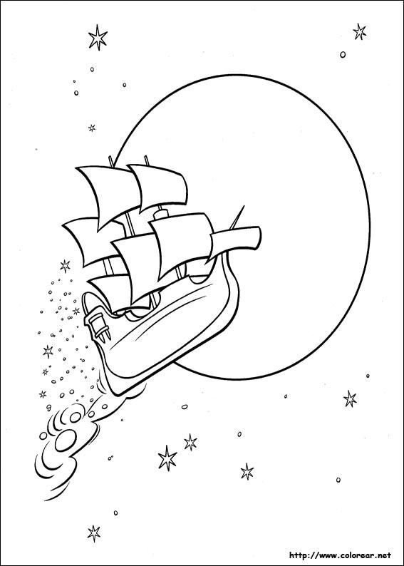 Dibujos de Peter Pan para colorear en Colorear.net