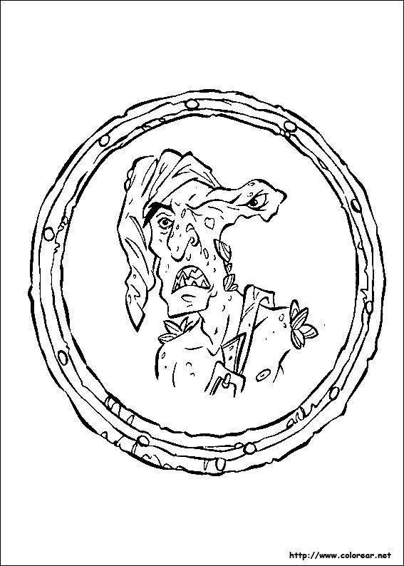 Dibujos para colorear de piratas del caribe for Disegni di case dei caraibi