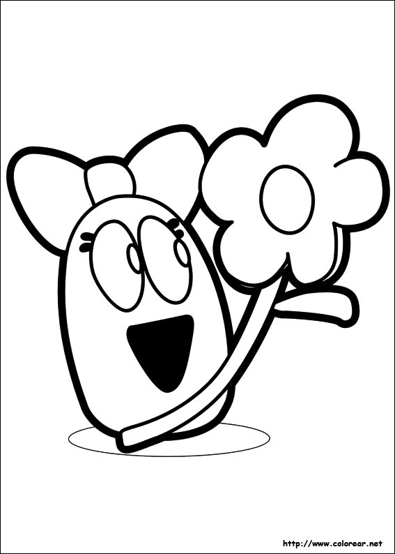 pocoyo printable coloring pages for kids