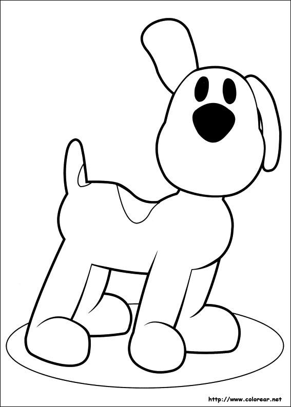 Dibujos de Pocoyó para colorear en Colorear.
