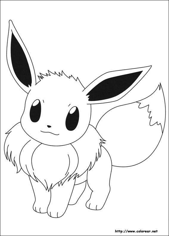 Suficiente Dibujos de Pokemon para colorear en Colorear.net UQ97
