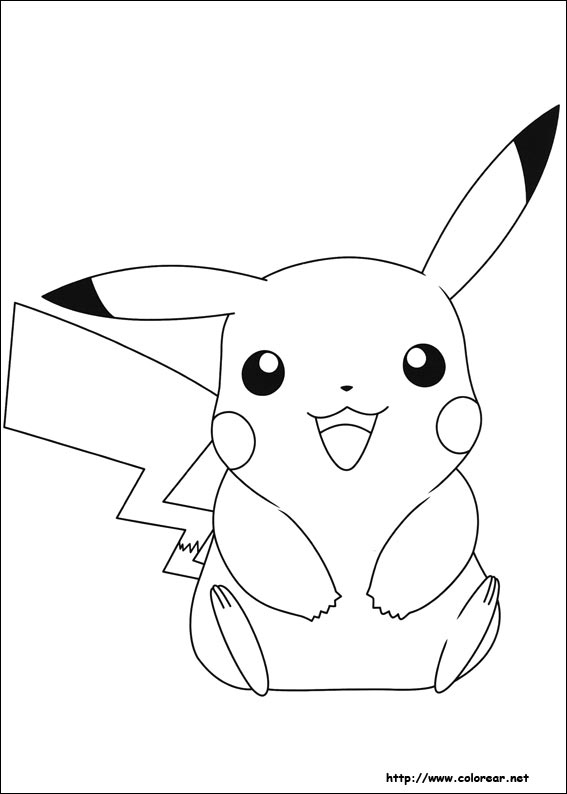 Dibujos para colorear de pokemon - Dessin facile de pokemon ...