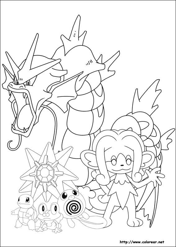 Dibujos para colorear de pokemon - Dessin pokemon legendaire a imprimer gratuit ...