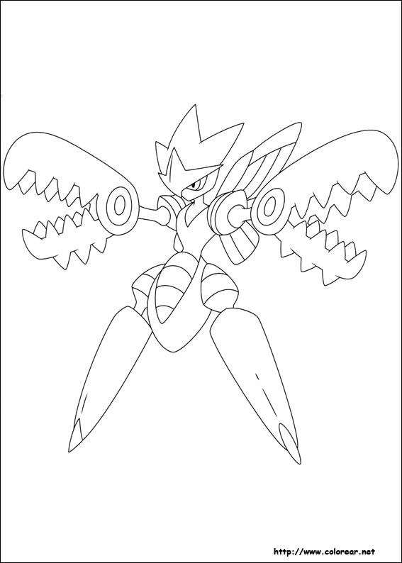 Dibujos Para Colorear De Pokemon