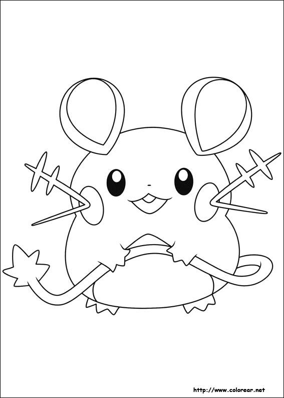Dibujos de Pokemon para colorear en Colorear.net