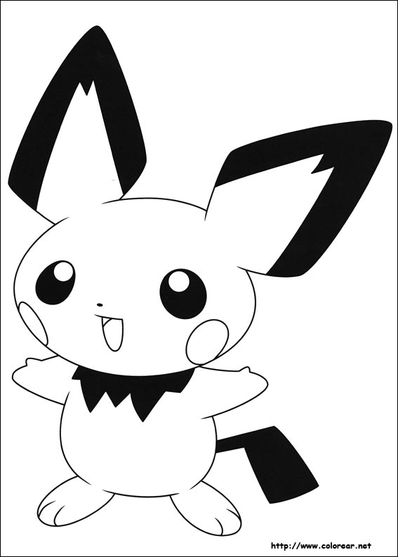 Well-known Dibujos de Pokemon para colorear en Colorear.net WE74