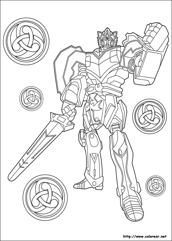 Lego Coloring Pages Dino Charge Gold Ranger Power Coloring ...