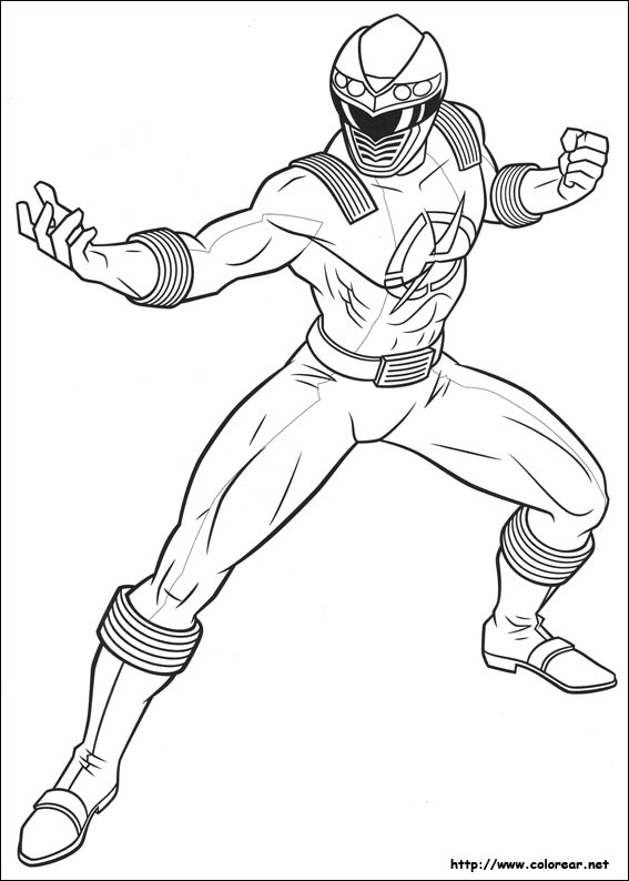 Dibujos de Power Rangers para colorear en Colorear.net