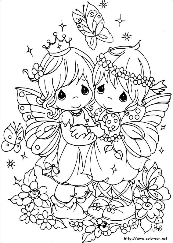 Dibujos de Preciosos Momentos para colorear en Colorear.net