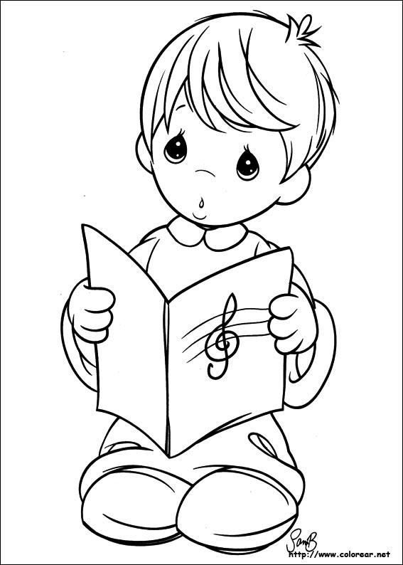 Dibujos Para Colorear De Preciosos Momentos De Niños Imagui