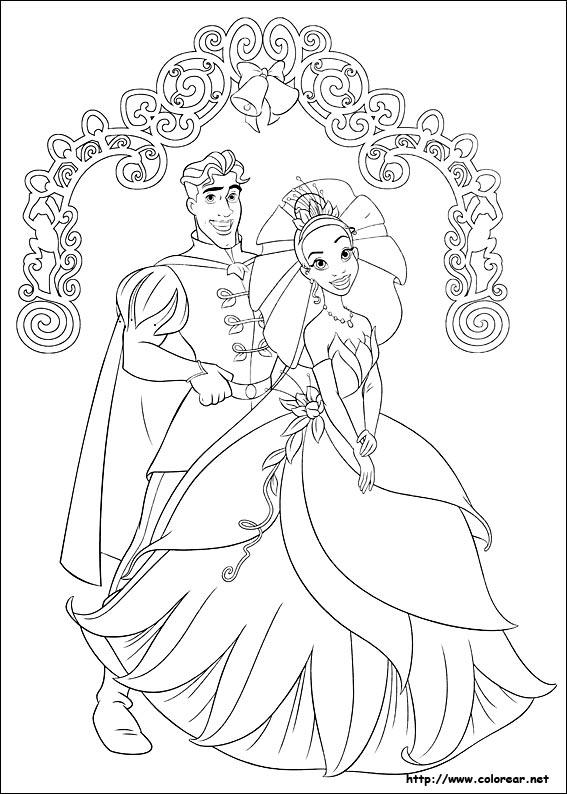 Dibujos De Tiana La Princesa Y El Sapo Volver A La Categoria Tiana La