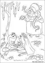 Dibujos De Tiana La Princesa Y El Sapo Para Colorear En